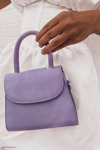 Corsette Mini Purse - Lilac