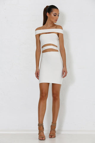 Marcella Bandage Dress - White