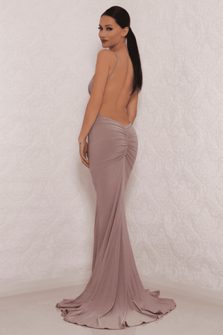 Chile Dress - Taupe