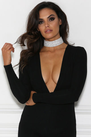 Alma Diamante Choker Necklace - 12 Row