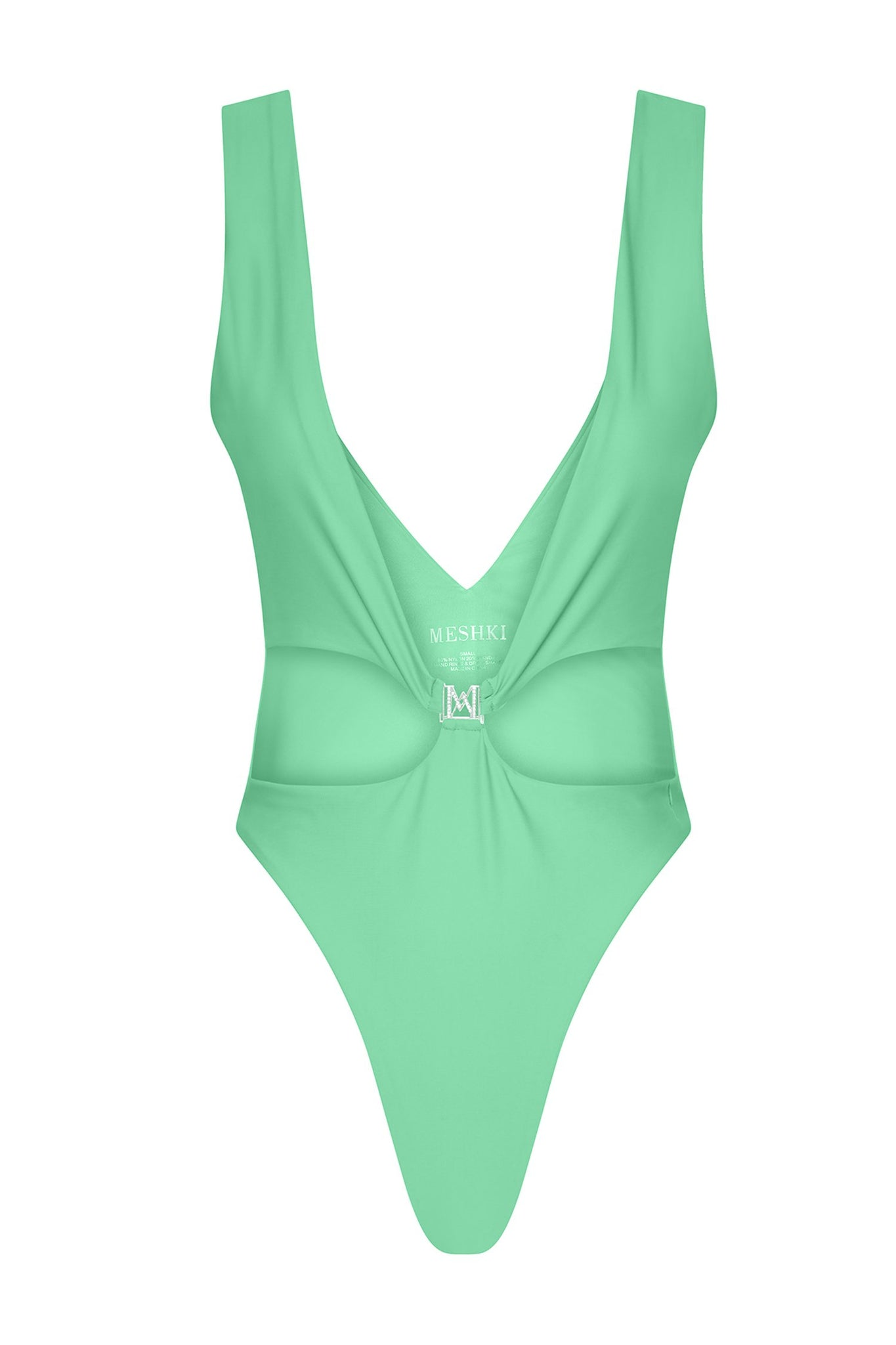 Rikki Low Cut One Piece - Lime Green - MESHKI