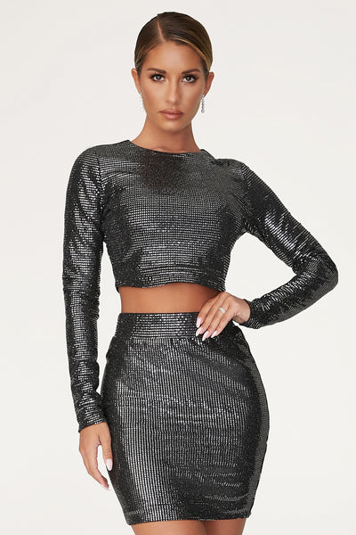 Gwen Mini Skirt - Black