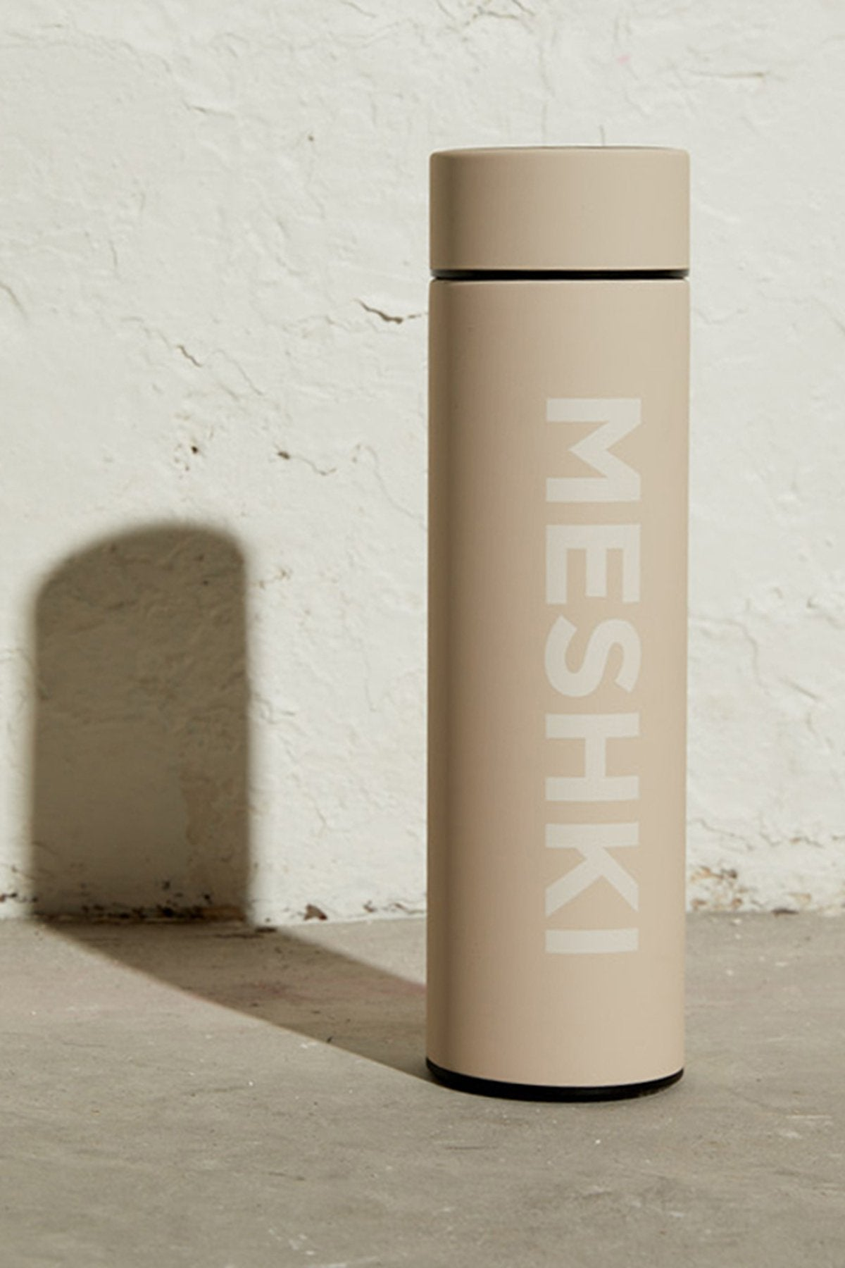 Meshki Logo Water Bottle - Nude - MESHKI