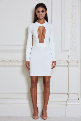 Thea Mini Dress - White