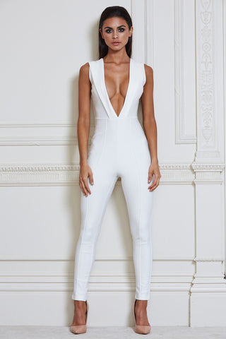 Karlie Jumpsuit - White