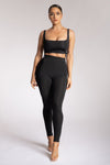 Tilly High Waisted Legging - Black