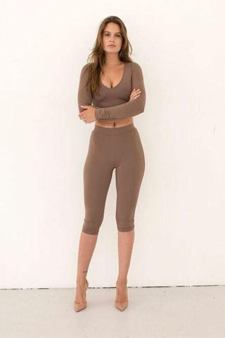 Axel Leggings - Mocha