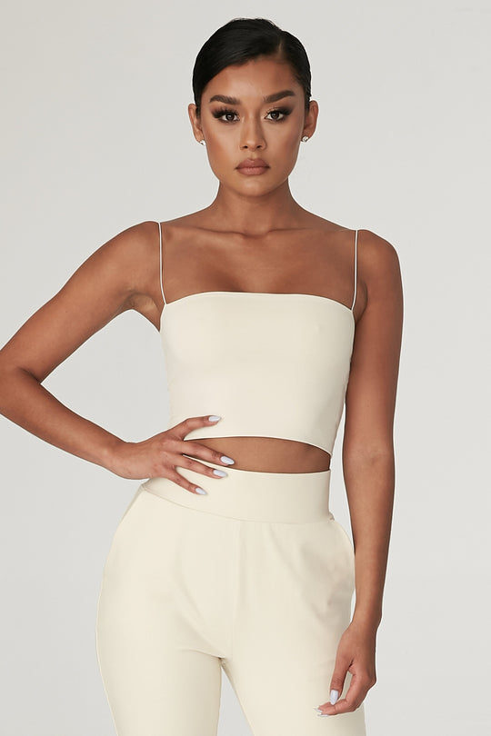 Yvonne Crop Top by MESHKI, available on meshki.com.au for $33.15 Kendall Jenner Top Exact Product