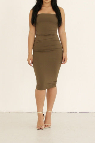 Jerome Dress - Khaki