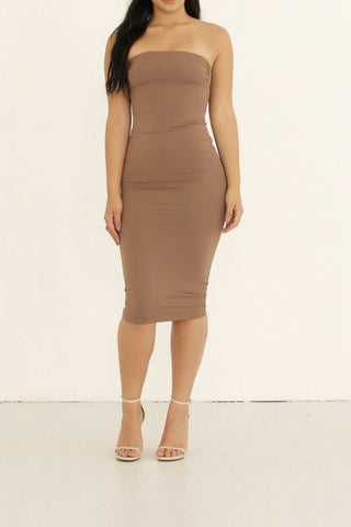 Jerome Dress - Mocha