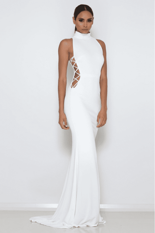Kenya Gown - White