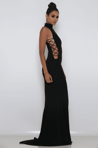 Kenya Gown - Black