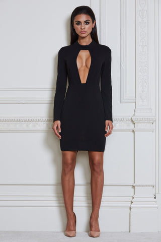Thea Mini Dress - Black
