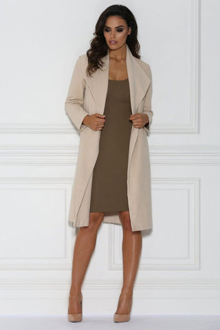 Shadiya Coat - Nude