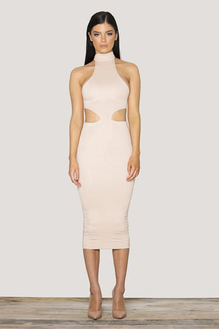 Verali Dress - Nude