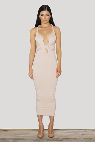 Valetta Multiway Dress - Skin-Tone Nude