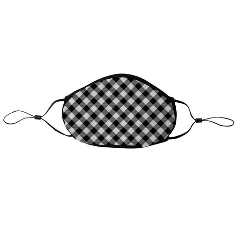 BLACK GINGHAM TOGGLE