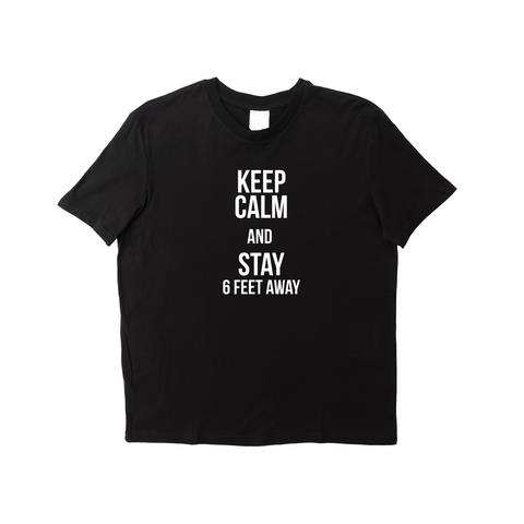 KEEP CALM BLACK T-SHIRT