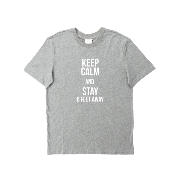 KEEP CALM GREY T-SHIRT