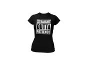 Straight Outta Patience (W) - Desilus Designs