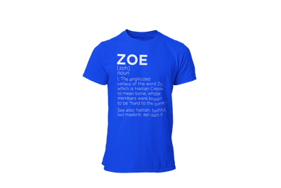 Define Zoe (M) - Desilus Designs