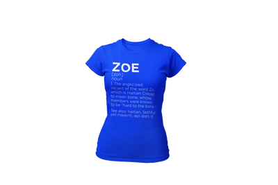 Define Zoe (W) - Desilus Designs