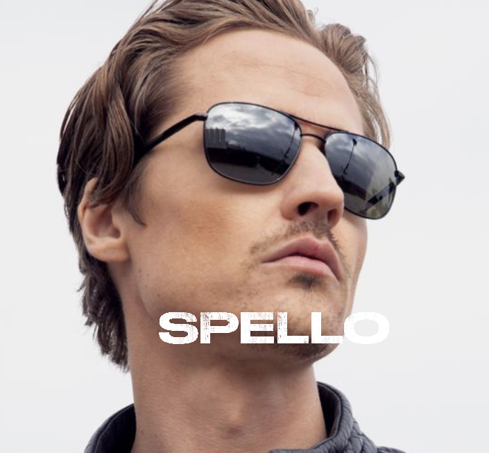 Spello - Shiny Gun Metal
