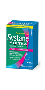 Systane Ultra Preservative Free Lubricant Eye Drops