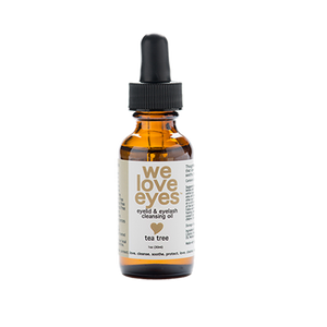 Tea Tree Eyelid Cleansing Oil