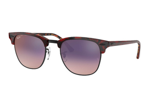 Clubmaster Color Mix Low Bridge Fit - Red Havana, Tortoise