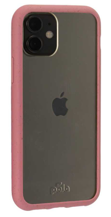 Clear Eco-Friendly iPhone 11 Case with Cassis Ridge