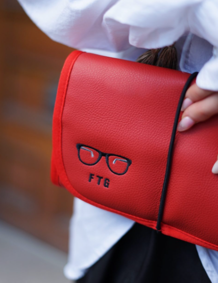 Eyewear Pouch - Dare Me Red