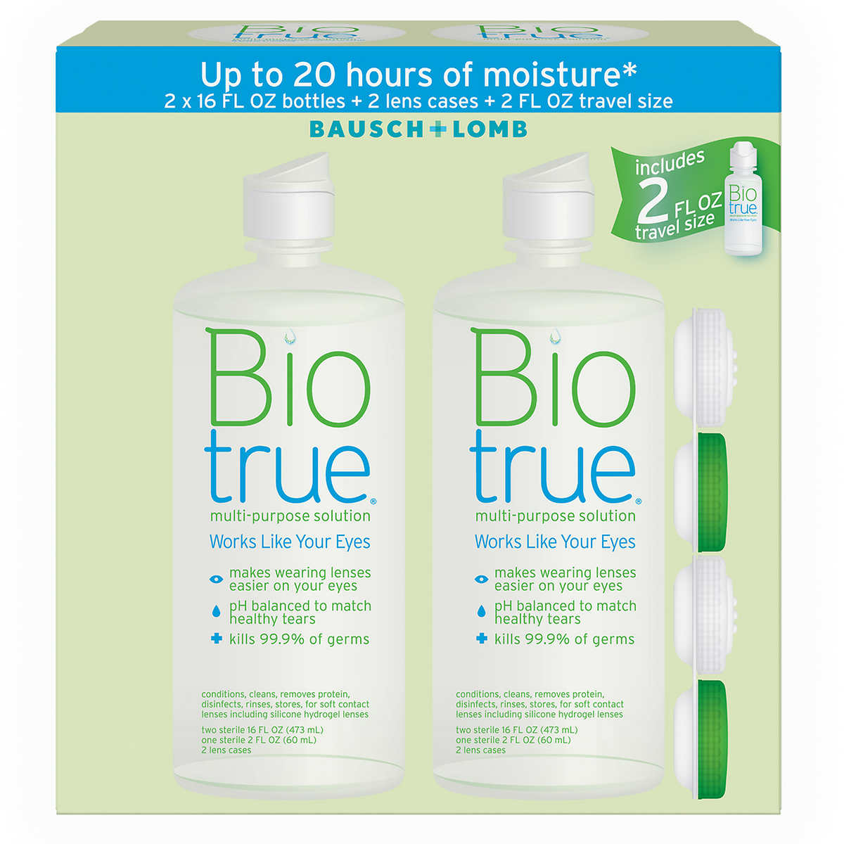 Bausch & Lomb Biotrue Multi-Purpose Solution
