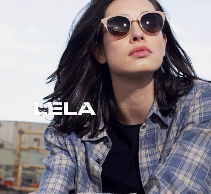 Lela - Shiny Black/Shiny Gold