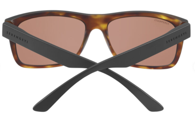 Positano - Matte Tortoise with Matte Black