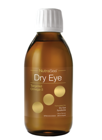 NutraSea Dry Eye Targeted Omega-3, Citrus, 200ml