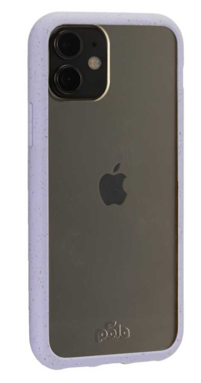 Clear Eco-Friendly iPhone 11 Case with Lavender Ridge