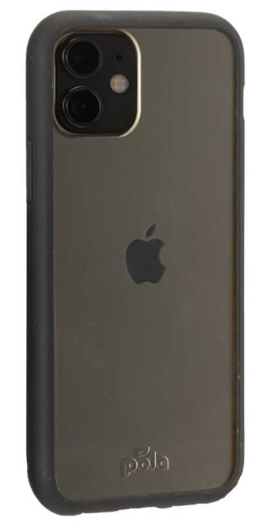Clear Eco-Friendly iPhone 11 Case with Black Ridge