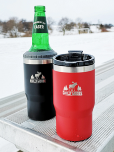 Brent 4 in 1 Insulator & Tumbler - Midnight Black