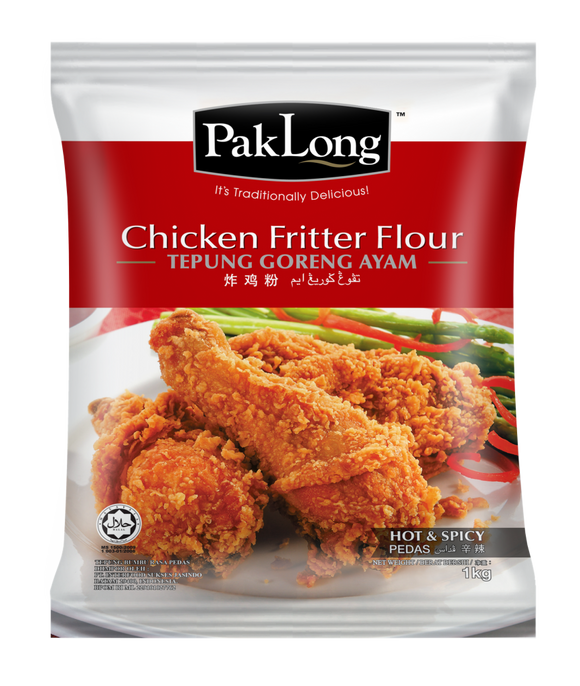 (HALAL) PakLong Chicken Fritter Flour (Hot & Spicy) 200g