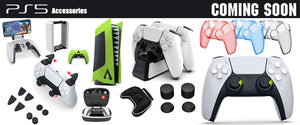 Available Now!  PS5 Gaming Accessories