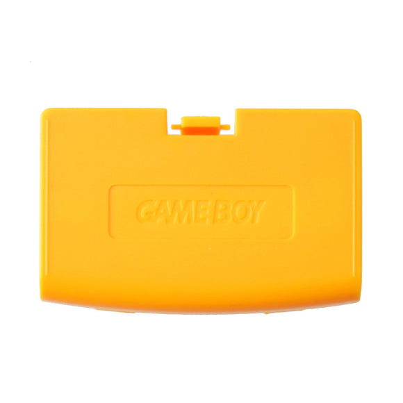 Battery Cover for Gameboy Advance Yellow