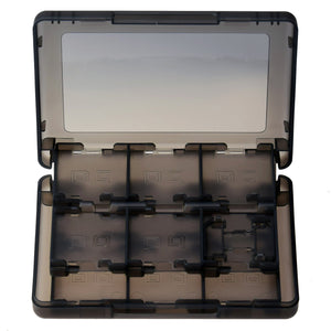 28 in 1 Game Card Storage Case for Nintendo 3DS Black