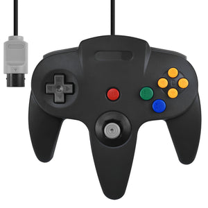 Wired Controller for Nintendo N64 Black