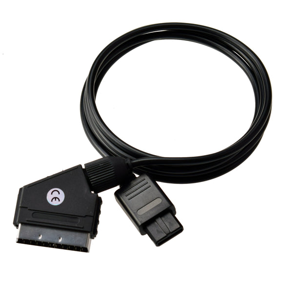 RGB Scart Cable for SNES/GameCube/N64 PAL