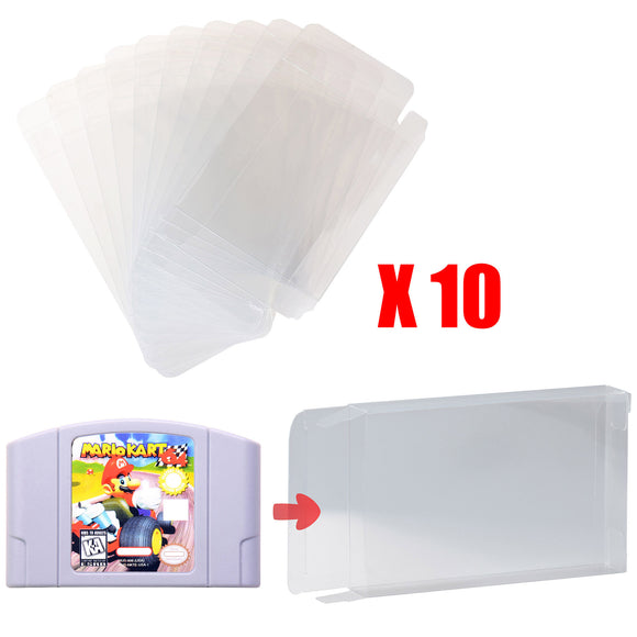 LOT 10 N64 Game Cartridge Protector