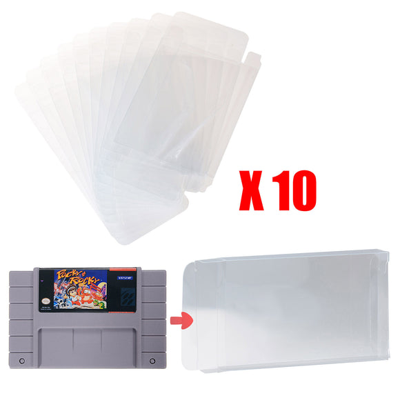 LOT 10 SNES Game Cartridge Protector