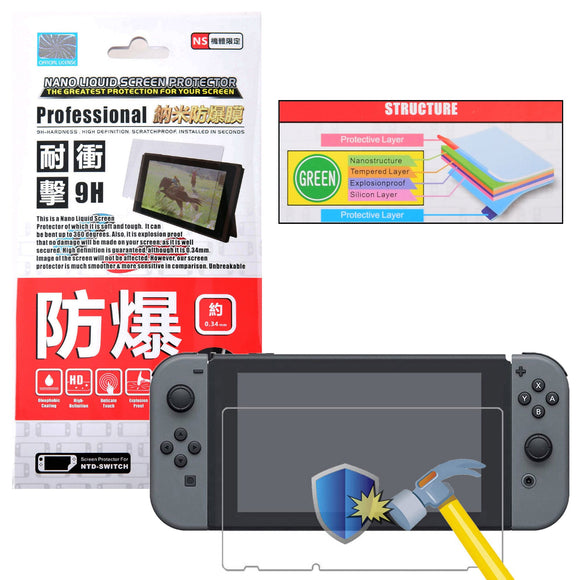 Project Design Nano Liquid Screen Protection Film for Nintendo Switch
