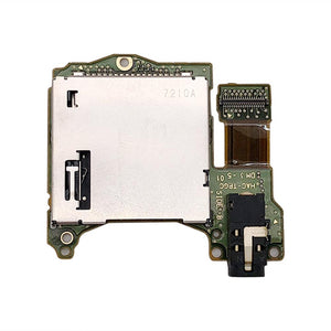 Game Card Slot with Headphone Jack PCB for Nintendo Switch