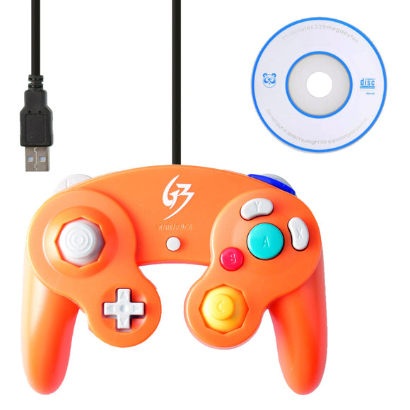 Gamecube Controller for PC and Mac Orange